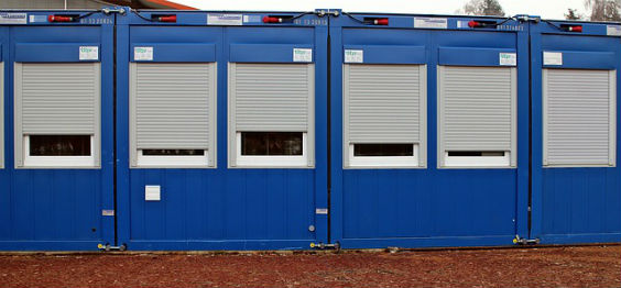 container blau r 564