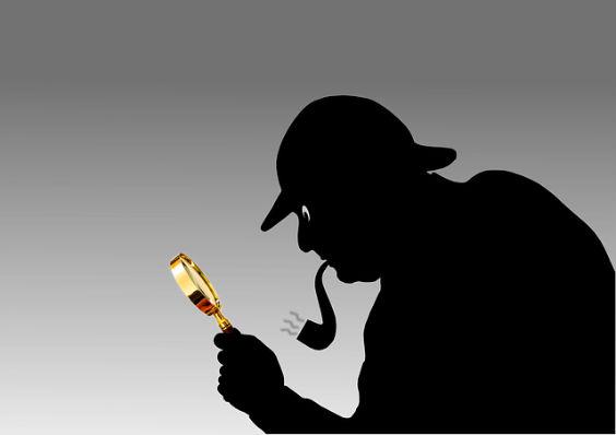 detektiv grau lupe gt 564