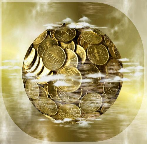 Geldblase