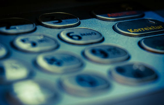geldautomat tastatur 564