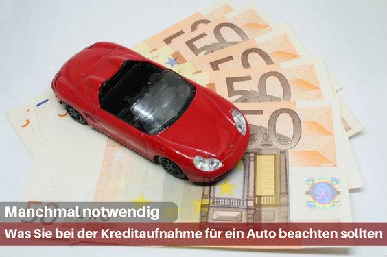 kredit auto ja nein aufnehmen