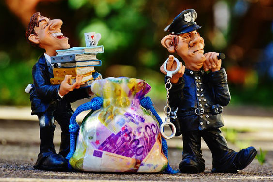 polizist geld sack beamter 4 564