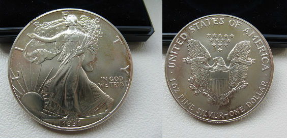 silver eagel 2er 564