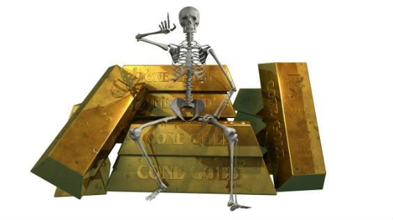 skelett gold 564