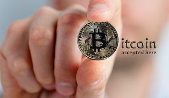 bitcoin akzeptanz hand