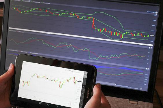 charts monitor tablett mo 564