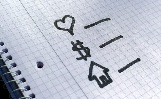 Liebe, Einkommen, Haus