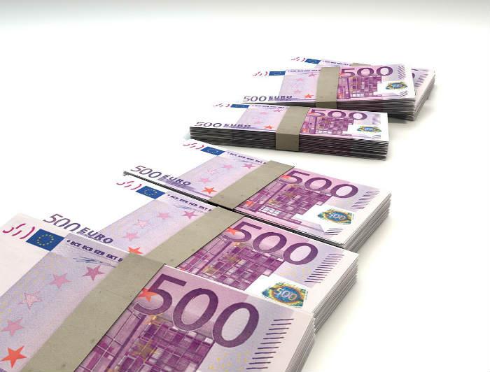 500 Euro Weg