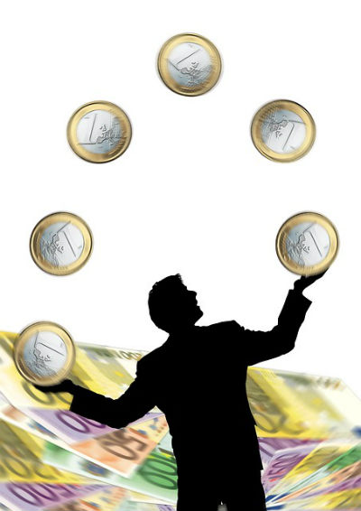 euro mann jonglierend 7w 564