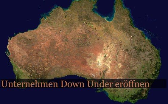 Firmengru00fcndung in Australien