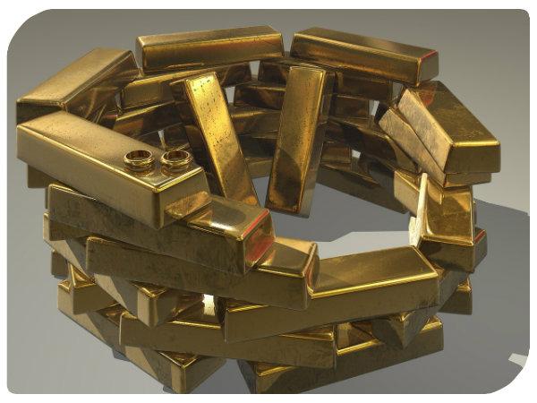 Geld und Gold gewinnen
