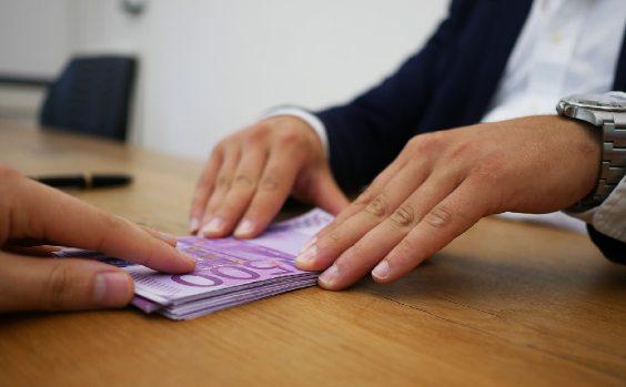 500er-Bu00fcndel Geld leihen