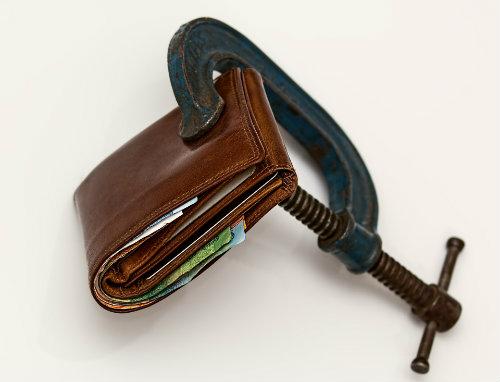 Portemonnaie zu