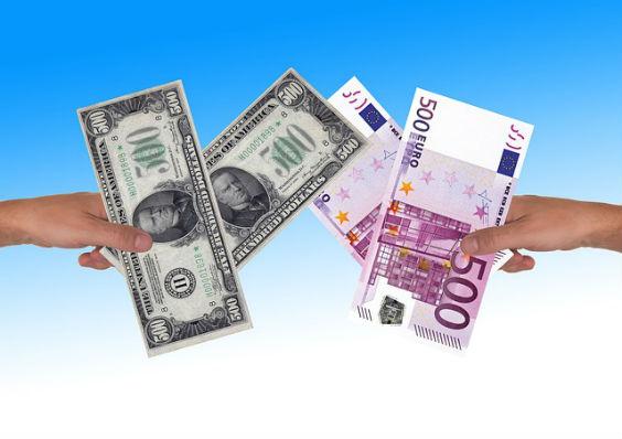 geld wechseln dollar euro