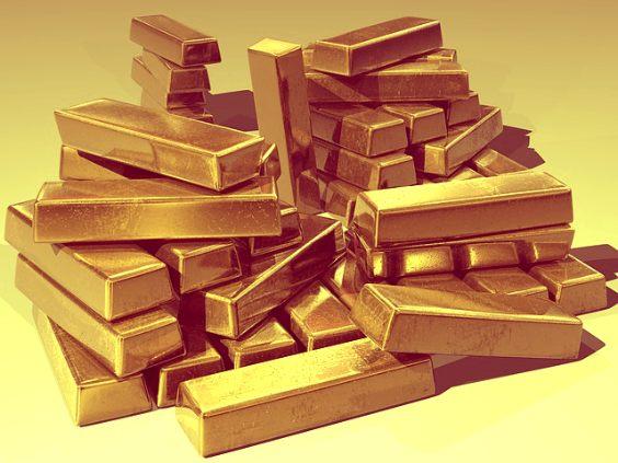 gold barrren stapel warm 564