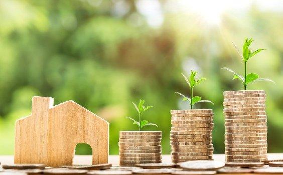 Haus Eigenkapital ansparen Wachstum