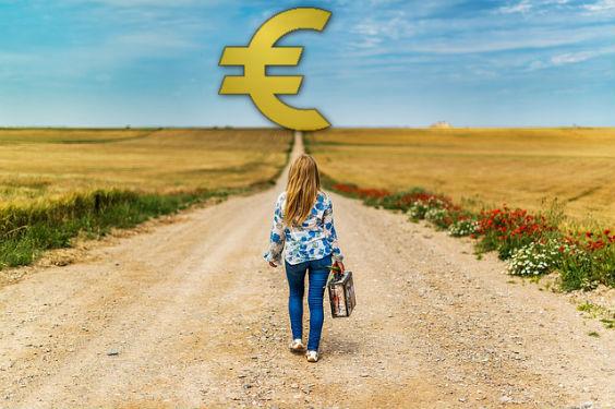 kind geld euro weg h 564