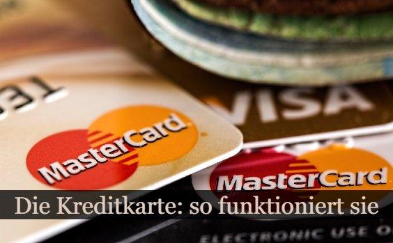 Wie funktioniert eine Kreditkarte?