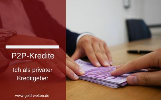 p2p kredite lohnend