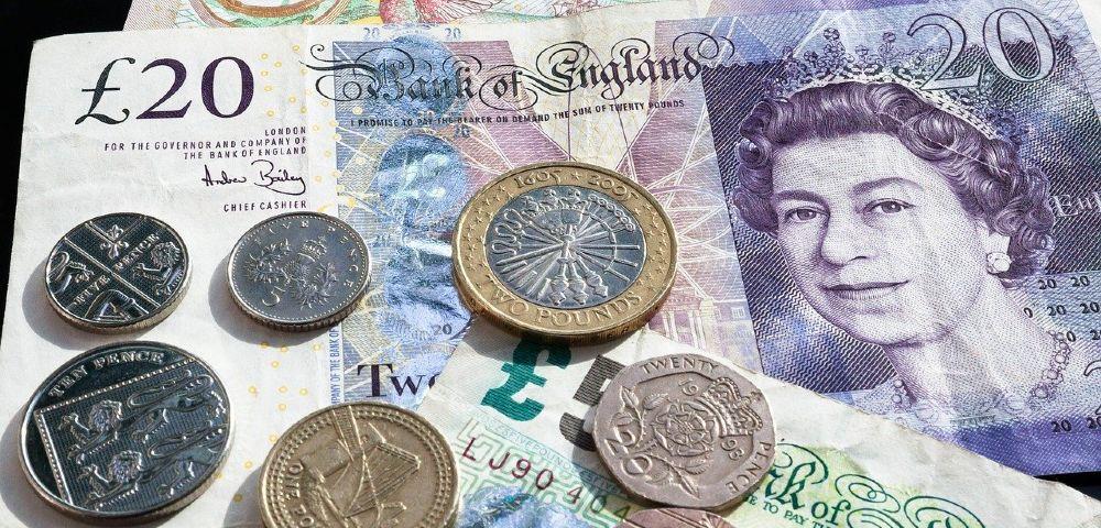 Englische Pfund Münzen