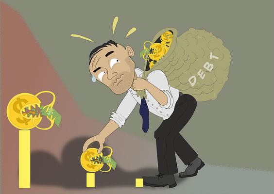 schulden buckel sack xh 564