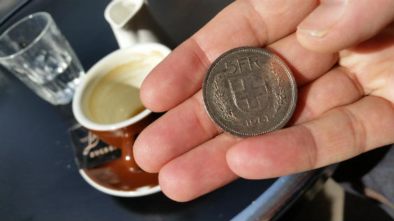 Geld Der Welt Währung Schweiz Der Schweizer Franken