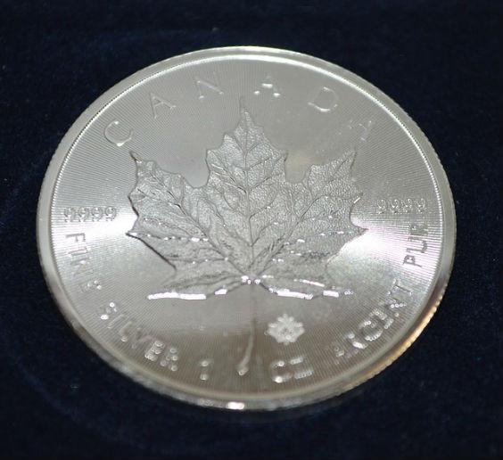 silber maple leaf n3 564