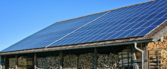 solar dach schuppen 564