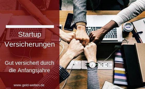 startup versicherungen o 564