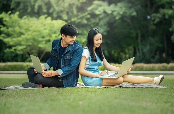 studenten wiese laptop 7d 564
