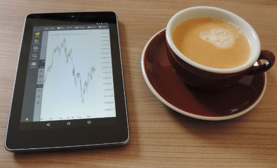tablett chart kaffee 564
