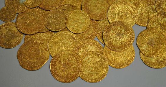 taler gold 564