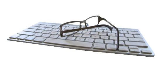 tastatur brille 564