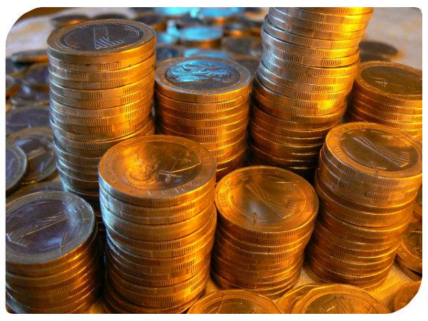 Ein Vermögen in Kleingeld