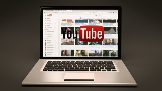 youtube laptop grau