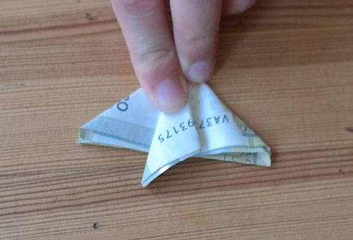 geld falten fisch 11b