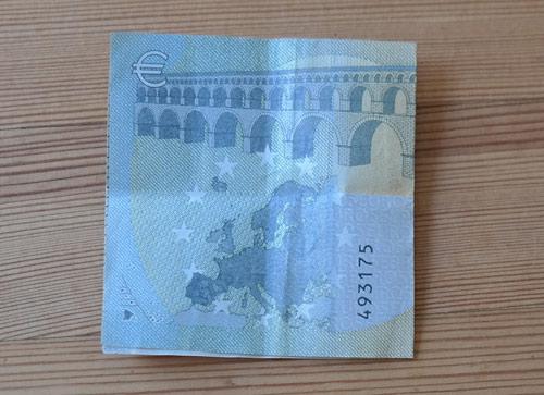 geld falten fisch 5