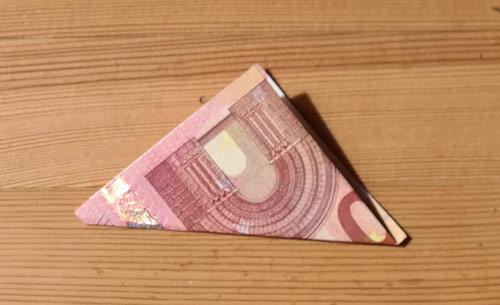 geld falten frosch 3