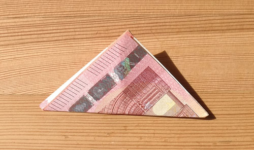 geld falten frosch 5