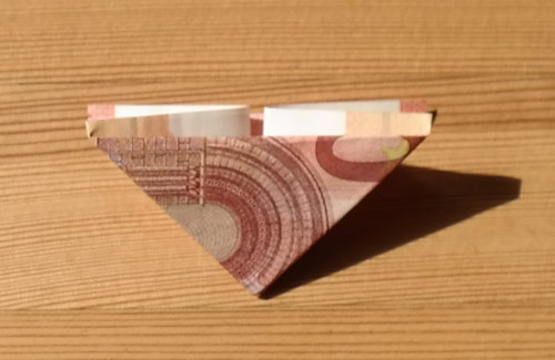 geld falten frosch 9