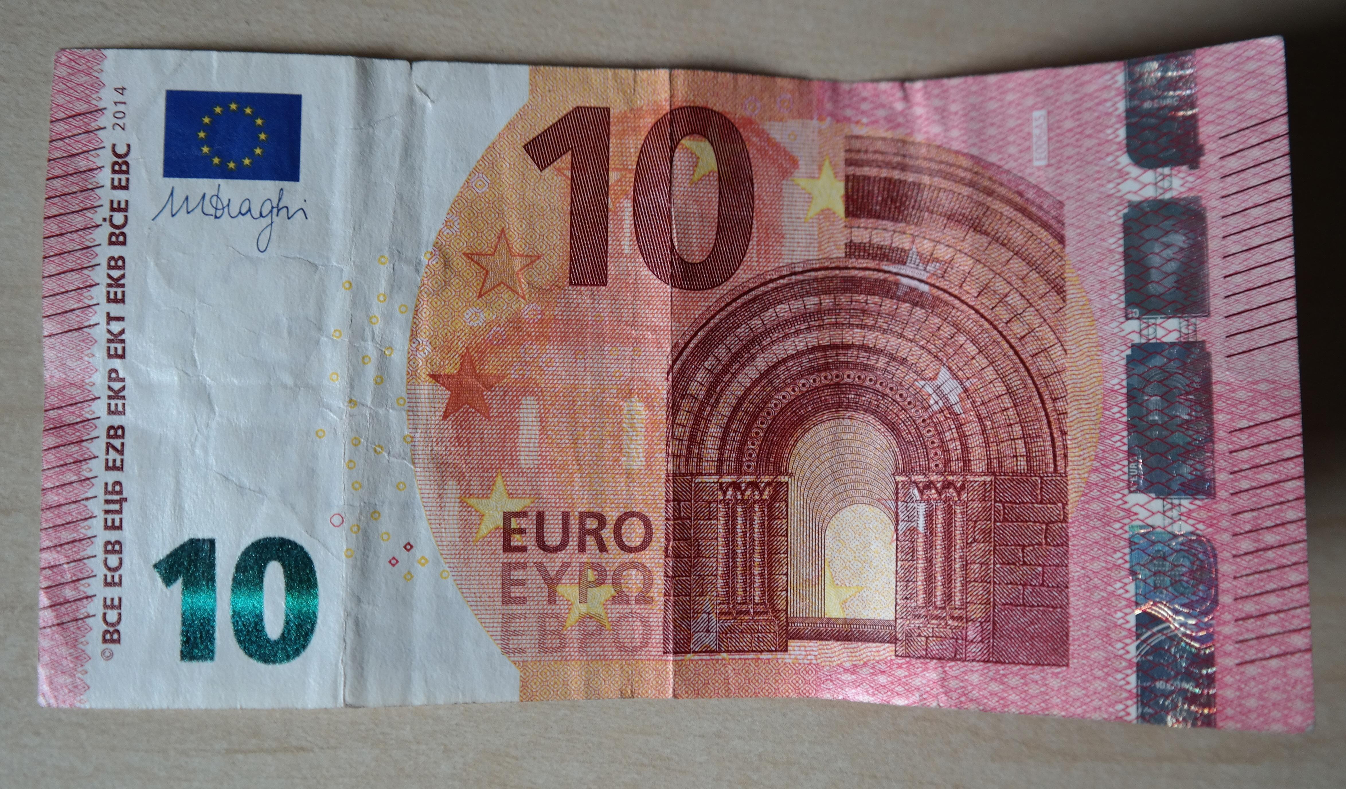 DrГјckglГјck 10 Euro